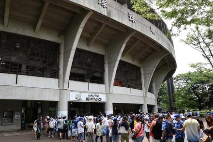 180708 vsDeNA 平塚球場前