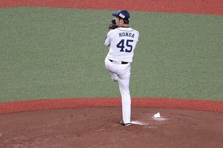 200725 vsロッテ 本田圭佑01