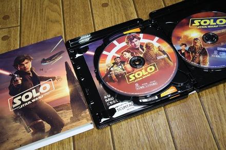 Blu-ray ハン・ソロ スター・ウォーズ・ストーリー02