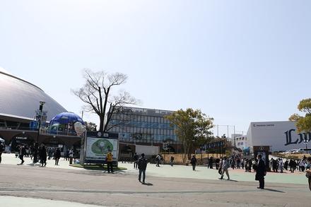 210317 オープン戦vs阪神 新生メットライフドーム 02