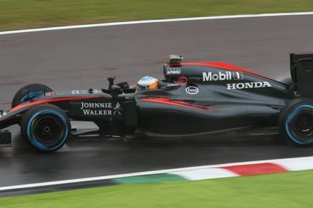 2015鈴鹿 日本GP FP1 アロンソ