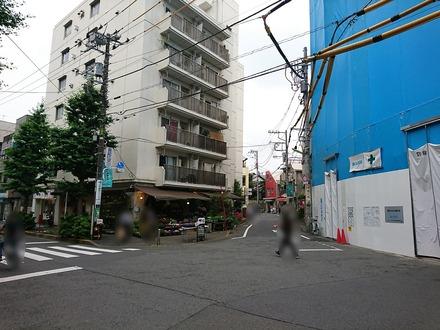 下北沢 旧ヤム邸 シモキタ荘 付近の様子