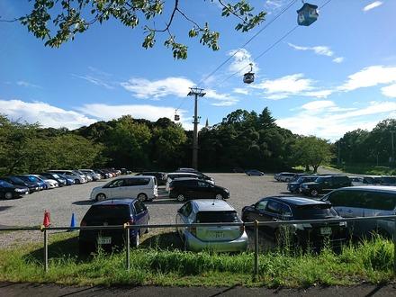 180908 vs巨人 駐車場