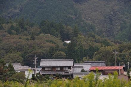 1810 関ヶ原 小西行長 陣跡から笹尾山を望む