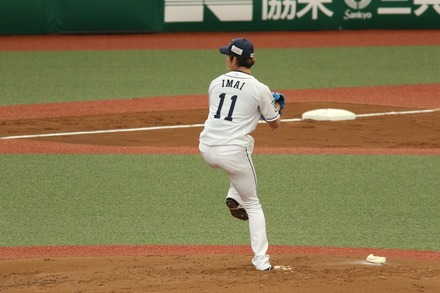 210317 オープン戦vs阪神 今井達也 01