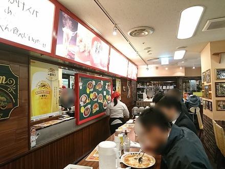 名古屋 あんかけスパ マメゾン エスカ店 店内