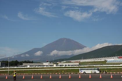 F1 富士 日本GP 富士山