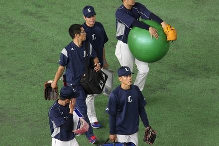 180610 vs巨人 田村伊知郎と多和田真三郎