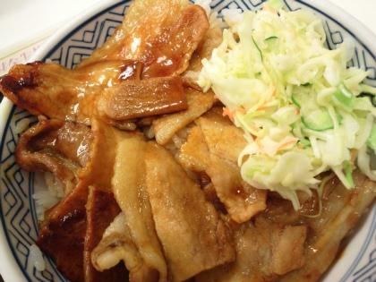 吉野家 焼味豚丼