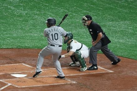 190320 MLB開幕戦 東京ドーム エドウィン・エンカーナシオン