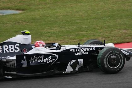 F1 富士 日本GP 中嶋一貴 フロント脱落