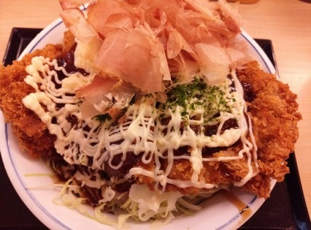 かつや キャベ玉チキンカツ丼02
