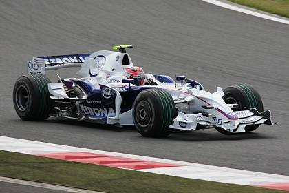 F1 富士 日本GP クビサ