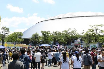 180603 vs阪神 ドーム前