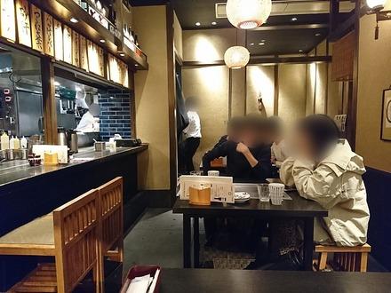 かしわ 渋谷ヒカリエ店 店内