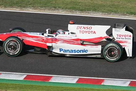 2009 F1 鈴鹿 決勝 トゥルーリ