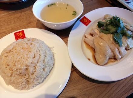 中野 威南記 海南鶏飯 スチームチキンライス01