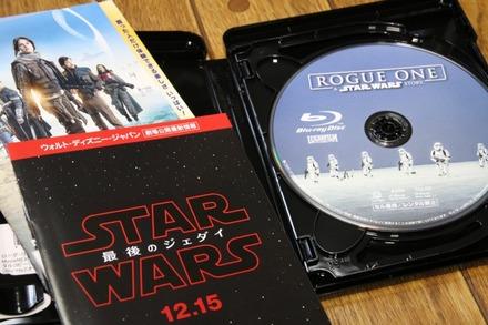 Blu-ray ローグ・ワン スター・ウォーズ・ストーリー02