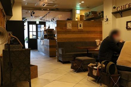 1802 京都 ビーガンカフェ チョイス 店内
