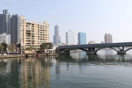 2002 台湾 高雄 愛河河口辺り 02