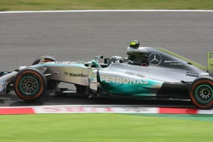 141003 日本GP FP1  ロズベルグ