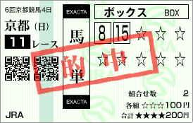 2006/11/12 京都11Rエリザべス女王杯