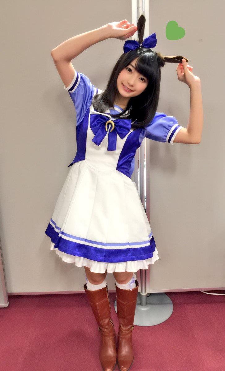 高野麻里佳さんのコスチューム