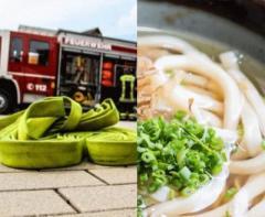 「消防車で団員食事」で謝罪 ネット「ご苦労様で済む話」