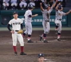 大阪桐蔭まさか!試合終了、いや一塁セーフ…仙台育英が劇的サヨナラ