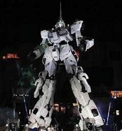ガンダム像、再登場=東京・お台場で24日