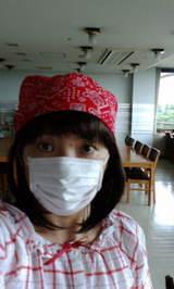 入院中に携帯で撮影
