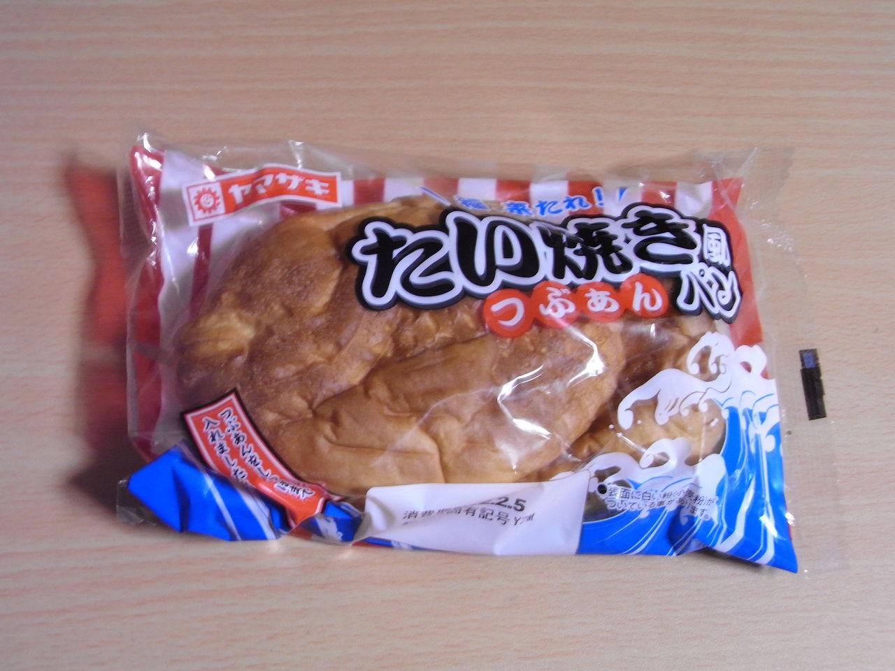 ヤマザキ たい焼き風パン