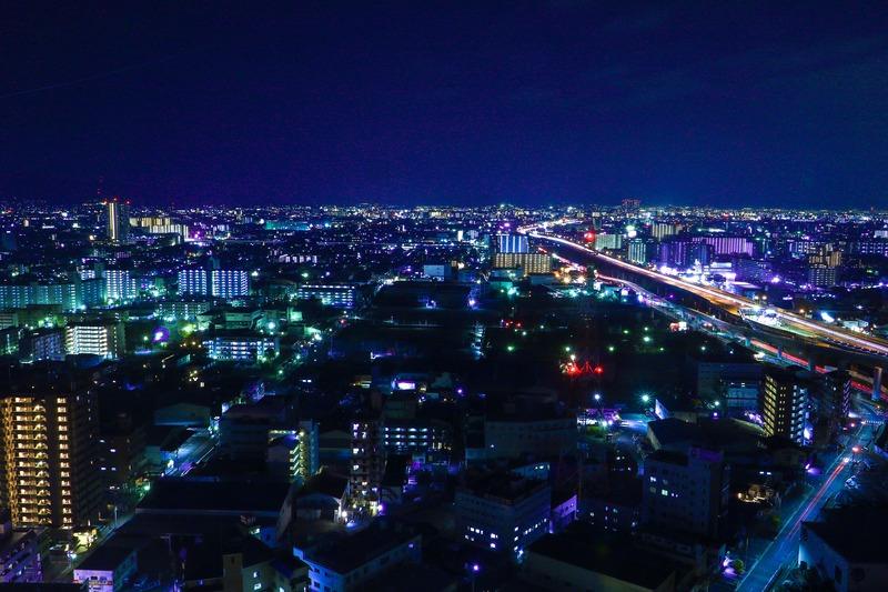 東大阪の夜
