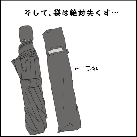 折りたたみ傘③