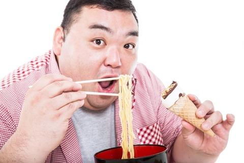 【悲報】デブ「食べてないのに太る」 →食事内容を見た結果・・・