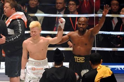 メイウェザー「東京に家買うわ。格闘技イベント、カジノ、ホテル、不動産、レストランもやるぜ?」