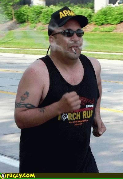 running-cigarette