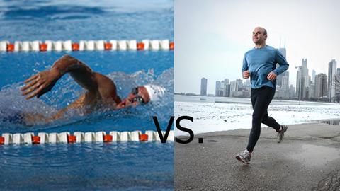 swimming-vs-running
