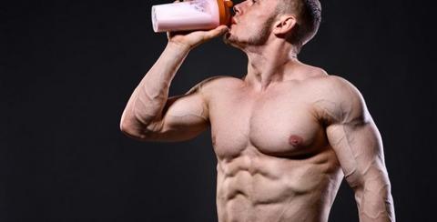 drinking-strawberry-protein-shake-689x350