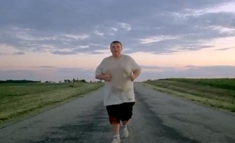 fat jogger