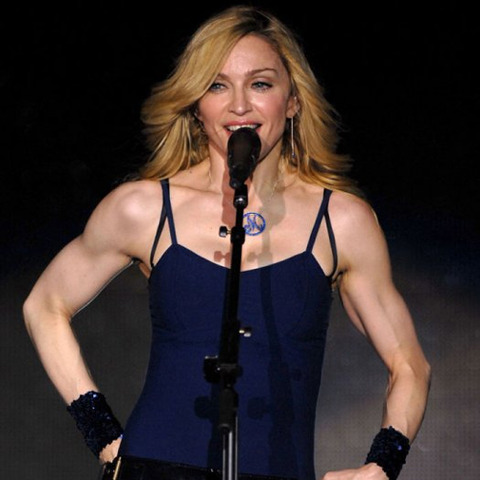 madonna-muscles