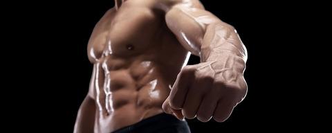 Bodybuilder+Fist+Punch+Banner
