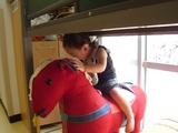 お馬さん見っけ!