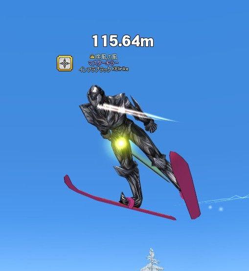 スキージャンプイベント お二人と別れてから、最後にスキージャンプイベントに。 飛んだ回数は忘れ.