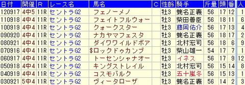 セントライト記念予想【2013年】-ターゲットデータ