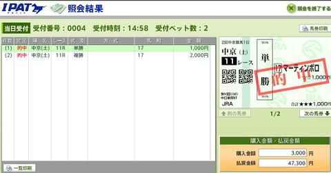 中山牝馬S【2014年】北村違いでこっちの方が絶対良い…!!