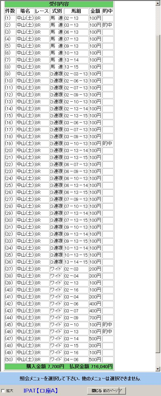3月7日中山8R的中