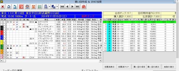 バケモン_20141115東京11R