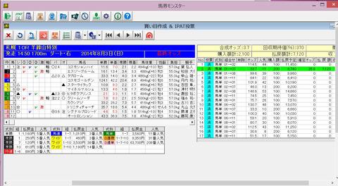 20140803札幌10R
