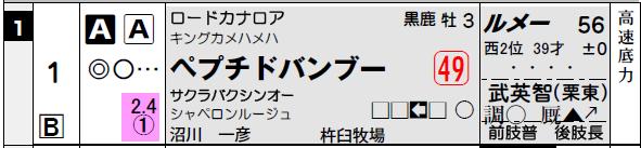 阪神4R_ペプチドバンブー